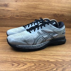 Asics Shoes - Asics GEL-Kayano 25 Silver Athletic Running Shoes